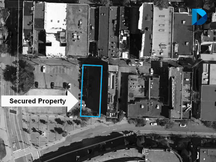 6,100-SF mixed-use development site