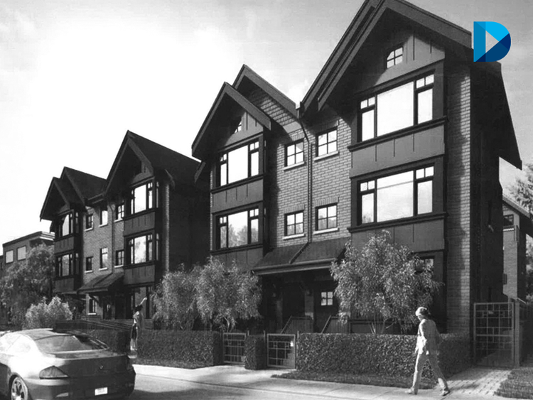 9 unit townhome development