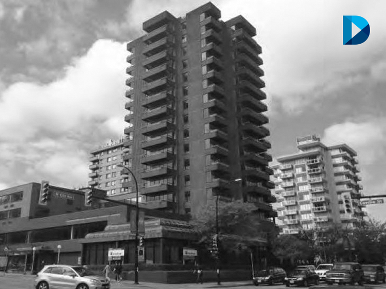 17-storey mixed-use apartment & retail tower