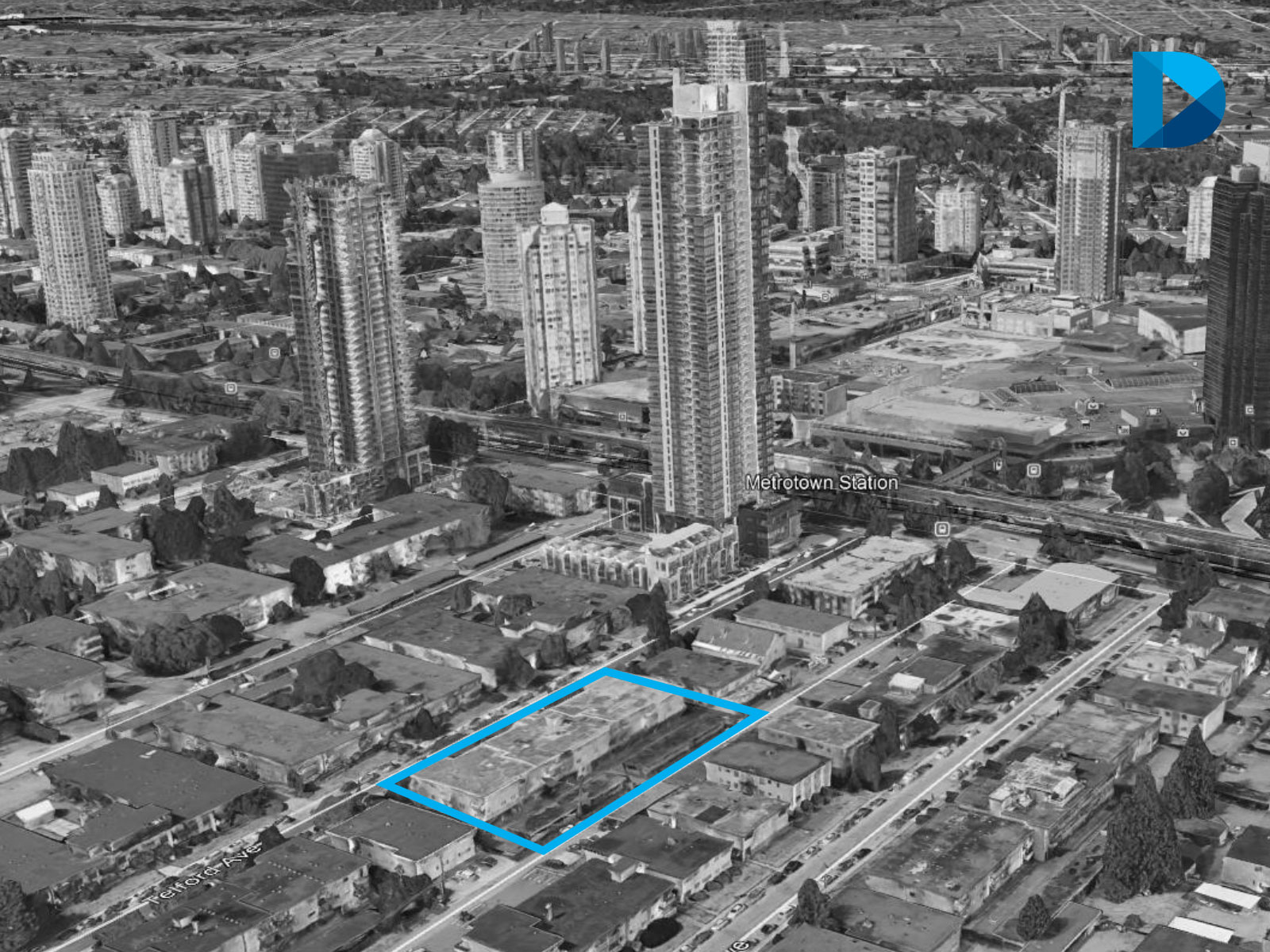 44,954-SF High-Rise Mixed-Use Development Site